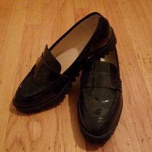 49cce862de0 Nine West Shoes - Nine West Juniper Loafers in Shiny Black